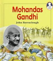 Cover of: Mohandas Gandhi | John Barraclough