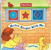 Cover of: Match Shapes With Me (Fisher Price Spin & Learn)
