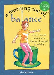 Cover of: A morning cup of balance | Kim Bright-Fey