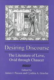 Cover of: Desiring Discourse |