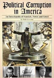 Cover of: Political corruption in America