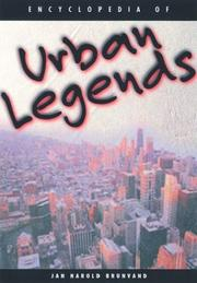 Cover of: Encyclopedia of Urban Legends