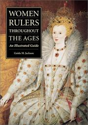 Cover of: Women rulers throughout the ages | Guida M. Jackson-Laufer
