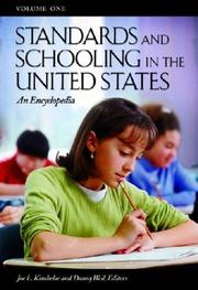 Cover of: Standards and schooling in the United States