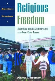 Cover of: Religious freedom