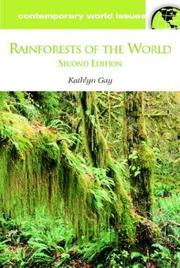 Cover of: Rainforests of the World, Second Edition: A Reference Handbook