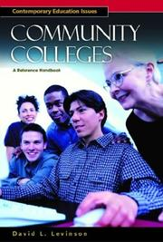 Cover of: Community Colleges