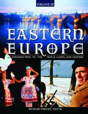 Cover of: Eastern Europe by Lucien Ellington