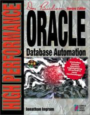 Cover of: High performance Oracle database automation