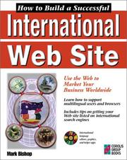 Cover of: How to Build a Successful International Web Site | Mark Bishop