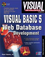 Cover of: Visual BASIC 5