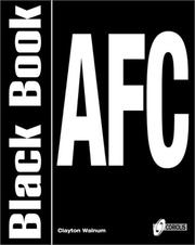 Cover of: AFC black book