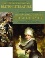 Cover of: The Longman Anthology of British Literature, Compact Edition, Volumes A & B