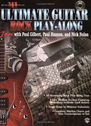 Ultimate Play-Along Rock Guitar Trax (Ultimate Guitar Play-Along)