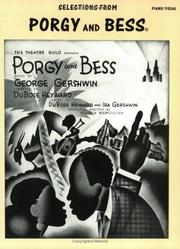 Cover of: Selections from Porgy and Bess
