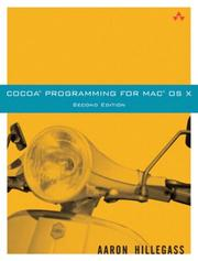 Cover of: Cocoa(R) Programming for Mac(R) OS X