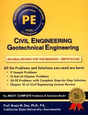 Cover of: Civil Engineering: Geotechnical Engineering (Engineering Press at Oxford University Press)