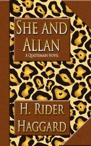 Cover of: She and Allan