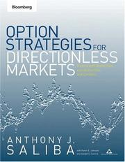 Cover of: Option Strategies for Directionless Markets | Anthony J. Saliba