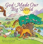 Cover of: God made our big world