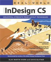 Cover of: Real world Adobe InDesign CS
