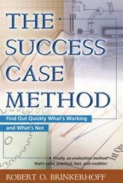 Cover of: The Success Case Method