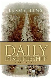 Cover of: Daily discipleship