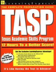Cover of: Tasp | LearningExpress Editors