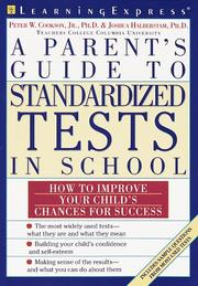 Cover of: A parent's guide to standardized tests