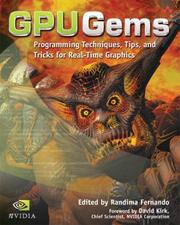 Cover of: GPU gems |
