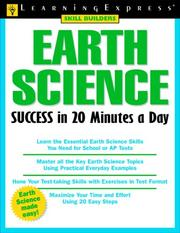 Cover of: Earth science success in 20 minutes a day