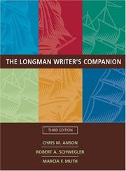 Cover of: The Longman writer's companion