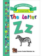 Cover of: The Letter Z Easy Reader | SUSAN B. BRUCKNER