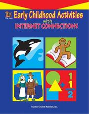 Cover of: Early Childhood Activities with Internet Connections