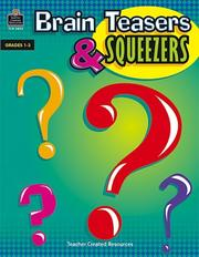 Cover of: Brain Teasers and Squeezers | MARY ROSENBERG