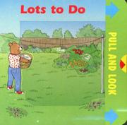 Cover of: Lots to Do | Jane Brettle