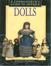 Cover of: Connoisseur's Guide to Antique Dolls (Connoisseur's Guides)