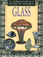 Cover of: Connoisseur's Guide to Antique Glass (Connoisseur's Guides)