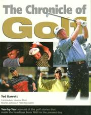 Cover of: The Chronicle of Golf | Ted Barrett