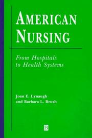 Cover of: American nursing