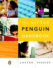 Cover of: The little Penguin handbook
