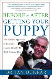 Cover of: Before and After Getting Your Puppy | Dr. Ian Dunbar