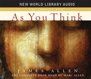 Cover of: As You Think