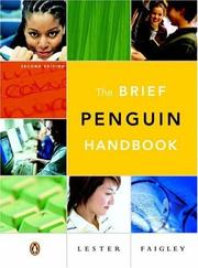 Cover of: The brief Penguin handbook