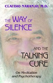 Cover of: The Way of Silence and the Talking Cure