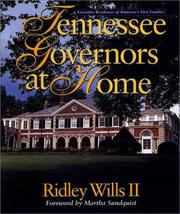 Cover of: Tennessee governors at home