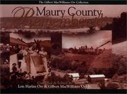 Cover of: Maury County remembered