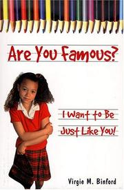 Cover of: Are You Famous? I Want to Be Just Like You!