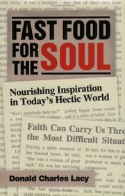 Cover of: Fast Food for the Soul | Donald Charles Lacy
