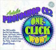 Cover of: Adobe Photoshop CS2 One-Click Wow! (2nd Edition) (WOW!)